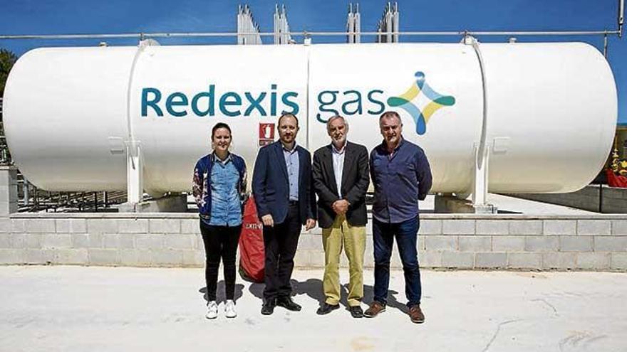 Inauguran en Llucmajor la planta de gas natural con capacidad para servir a 3.500 viviendas
