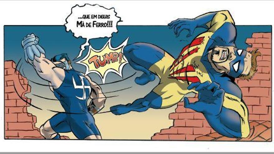 Carles Roman impulsa un nou Verkami per finançar el segon volum del còmic 'Drac Català'