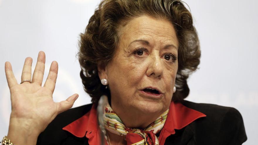 El PSOE solicita ser acusación en la causa de Rita Barberá