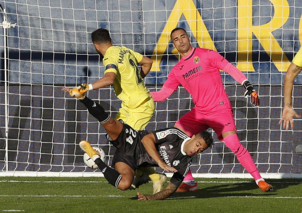 Las imágenes del Villarreal - Real Madrid.