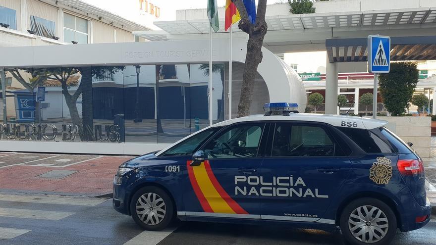 Sorprenden en Marbella a un conductor con más de un kilo de cocaína en la furgoneta