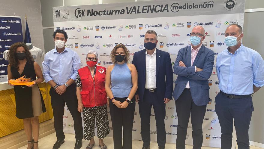 La 15K Nocturna Valencia muestra el camino con 6.500 inscritos
