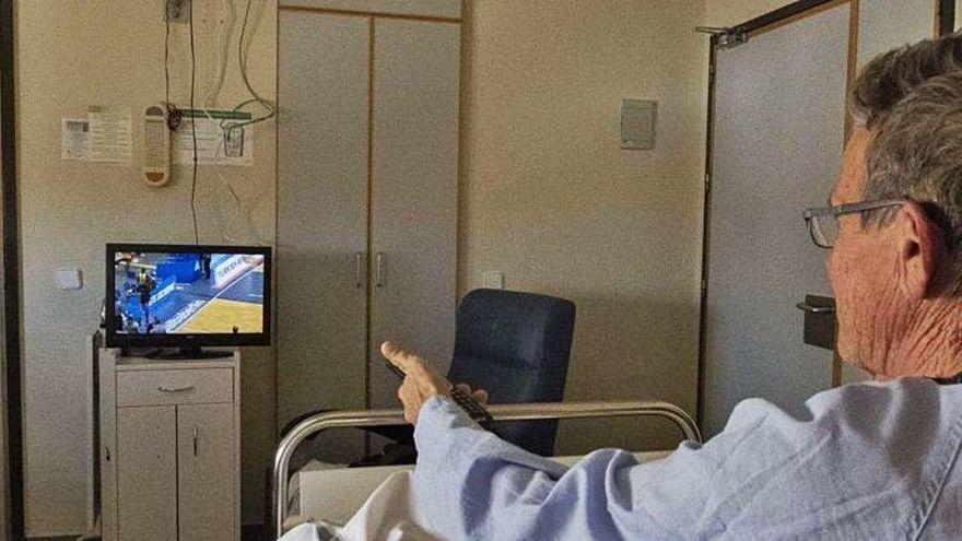 La tele deja de ser gratis en los hospitales de la Región: solo lo es para pacientes covid