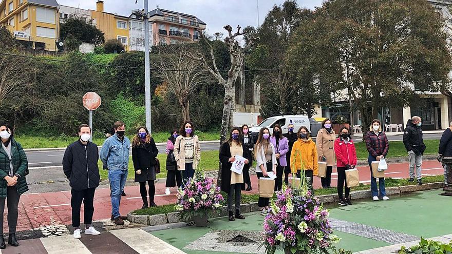 Pasos por la igualdad en Sada y tributo a pioneras en Bergondo