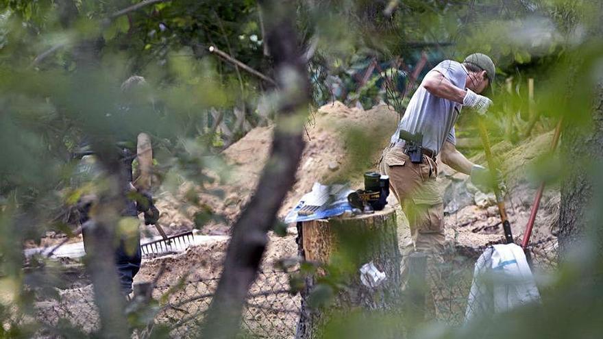"""La Policía alemana excava una parcela en relación con el """"caso Madeleine"""""""