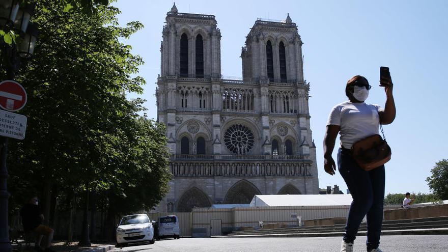 El delicado desmontaje del andamio de Notre Dame comienza este lunes