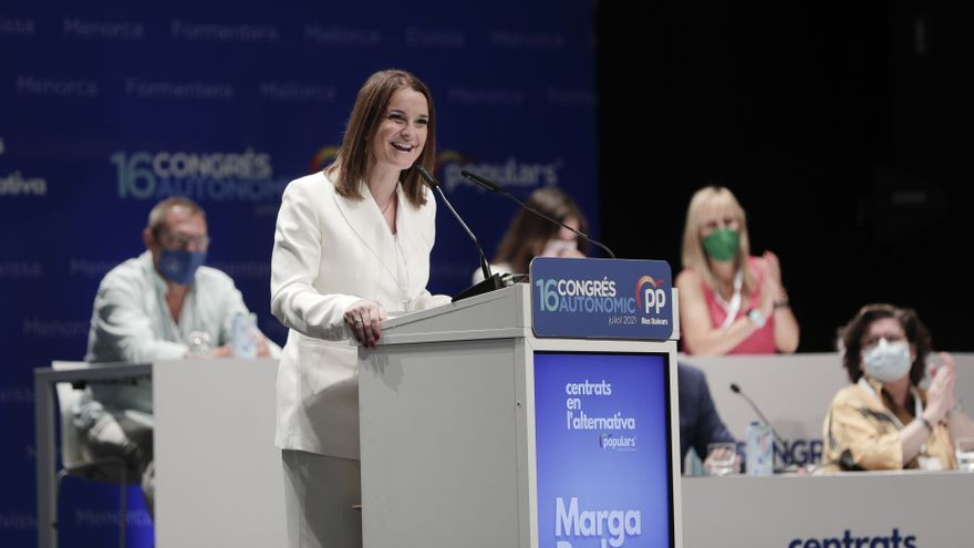 Marga Prohens asume la presidencia del PP balear arropada por la cúpula nacional