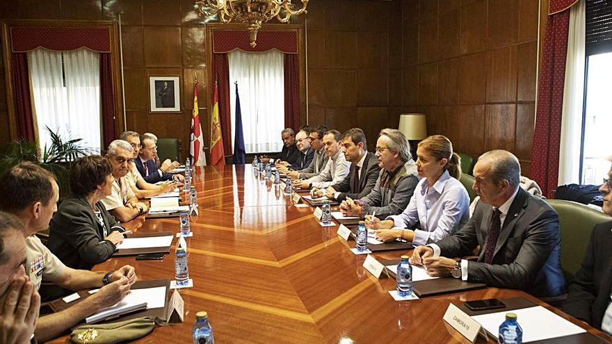 La reapertura de Monte la Reina supondría la llegada a Zamora de 4.000 personas