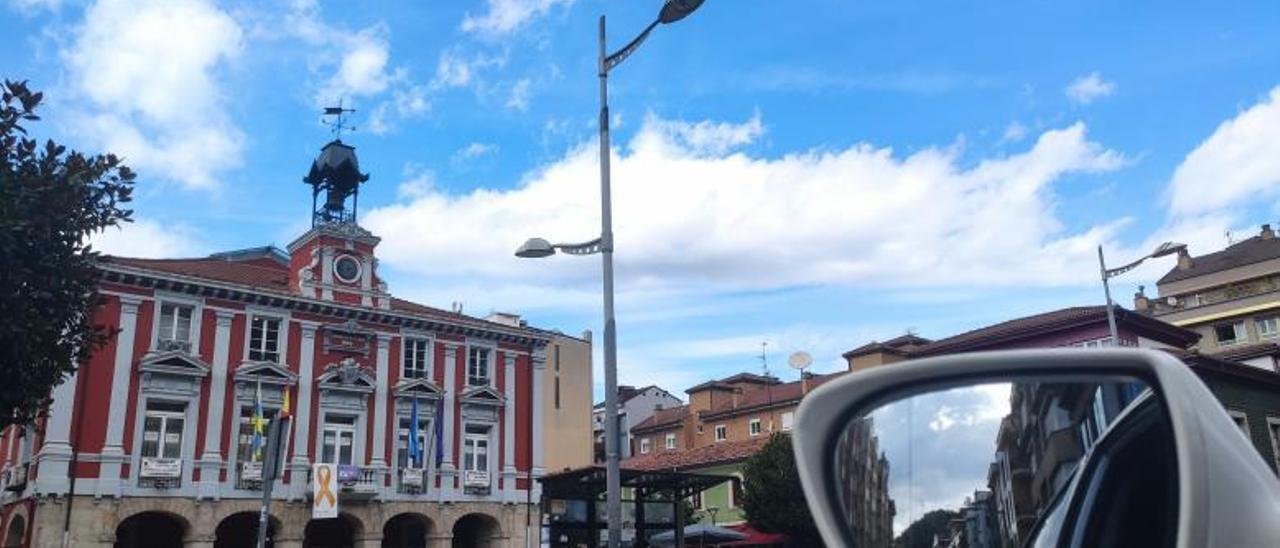 El Ayuntamiento de Mieres.