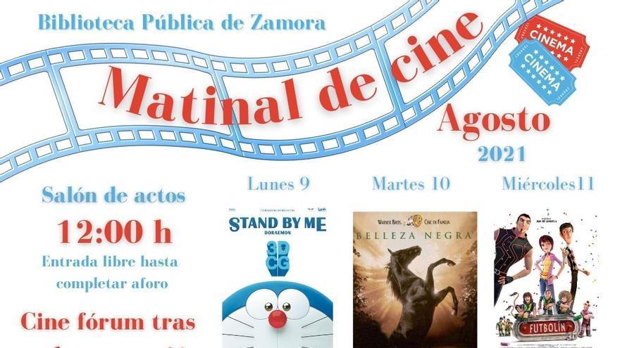 El cine vuelve a la Biblioteca Pública de Zamora