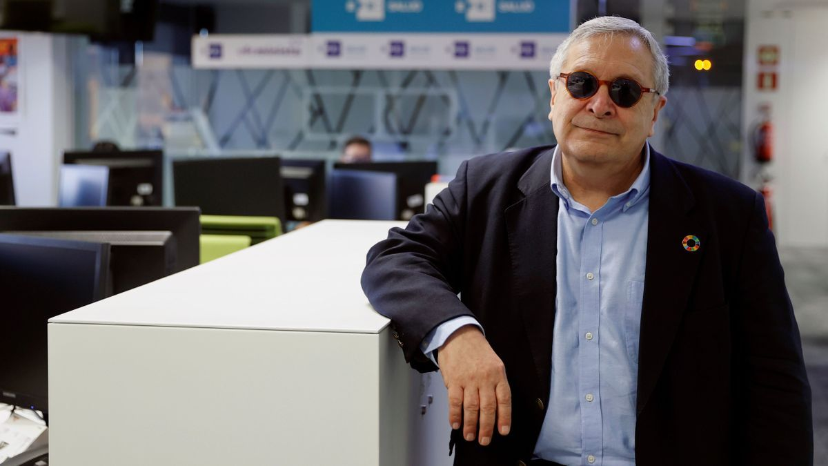 Manuel Gil, director de la Feria del Libro de Madrid.