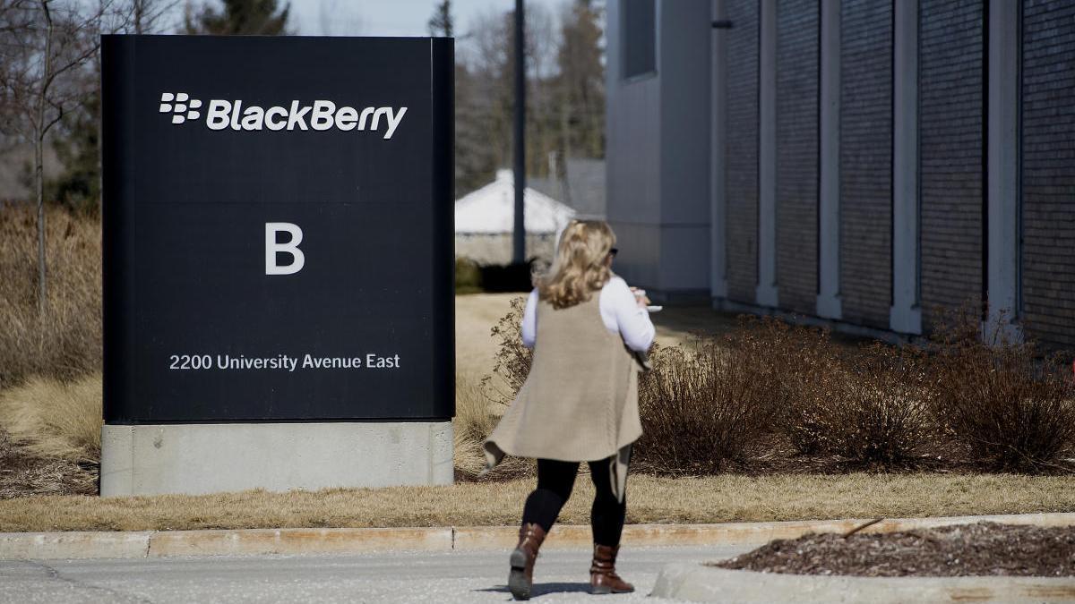 Sede de Blackberry en Canadá
