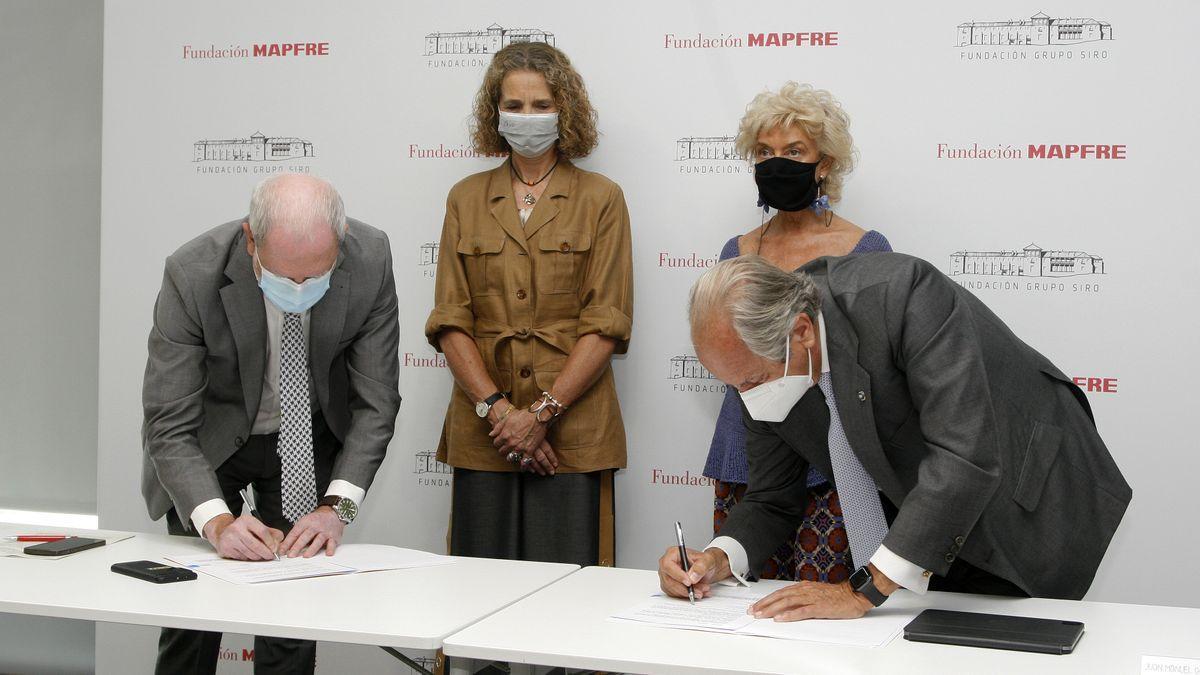Fundació Mapfre i la Fundació Grup Siro repartiran 2 milions de galetes nutricionals a 55 bancs d'aliments