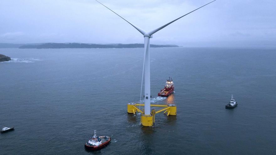 Ni uno de los parques eólicos marinos que se tramitan en España está en Galicia