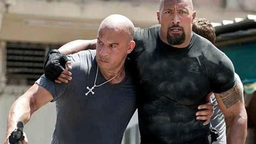 Dwayne Johnson no estará en 'Fast and Furious 9'