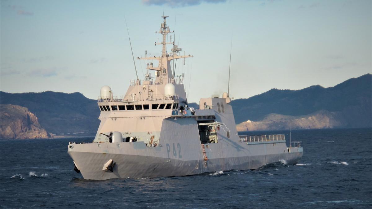 Archive - Ship 'Rayo' of the Spanish Navy.