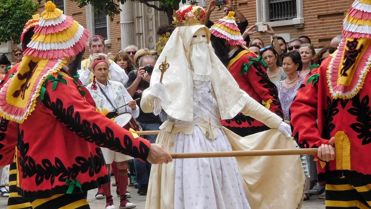 La Moma, protagonista de la procesión del Corpus