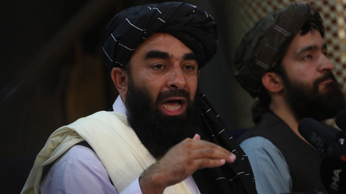 El portavoz de los talibán, Zabihulá Muyahid.