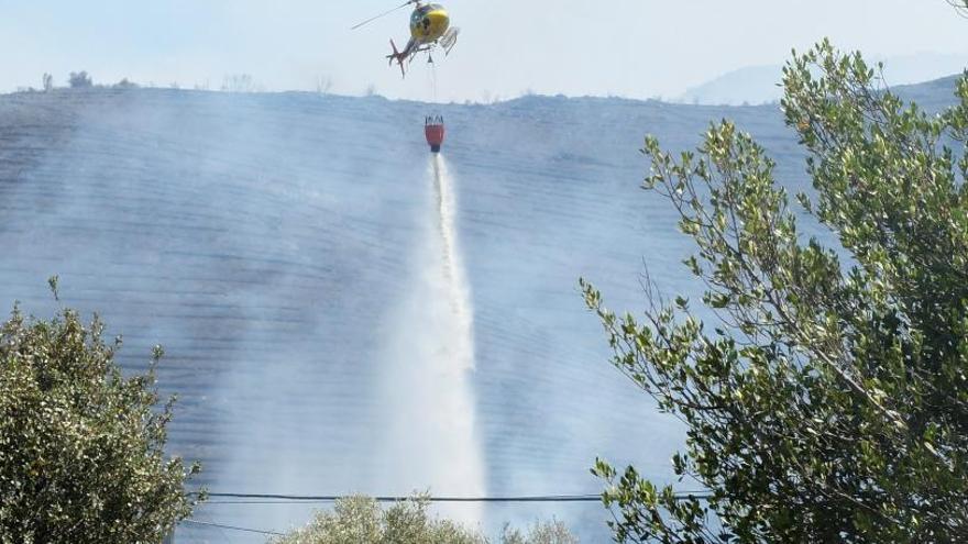 Bombers avisen que els focs fora de temporada  són una amenaça real