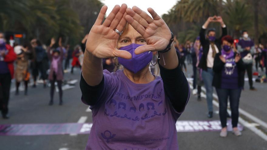 Las mujeres hacen oír su voz en toda España