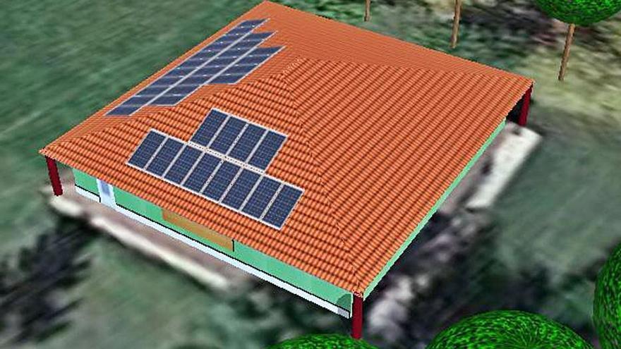 Santa Croya instala placas solares para abastecer a los edificios públicos