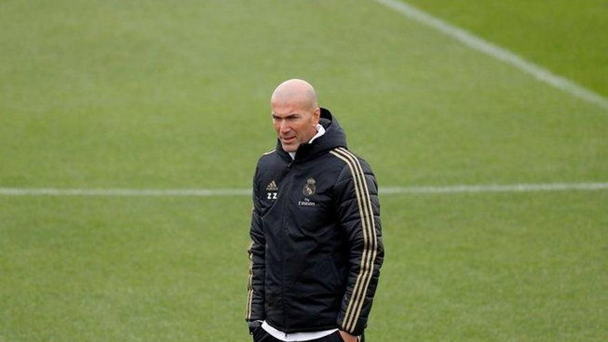 """Zidane: """"Bale está aquí porque creo que está contento"""""""