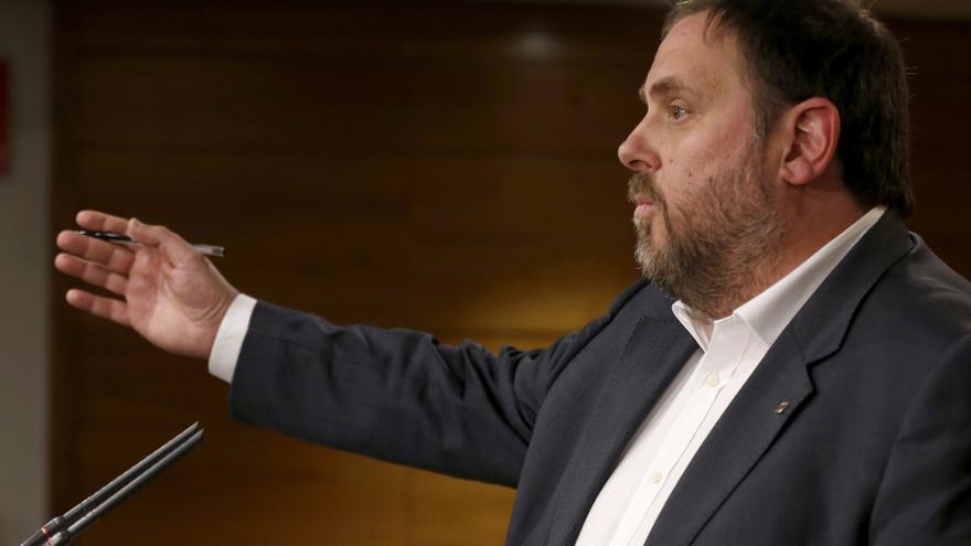 """Junqueras acusa al PSOE de ser """"el instrumento más útil del 'deep state'"""""""