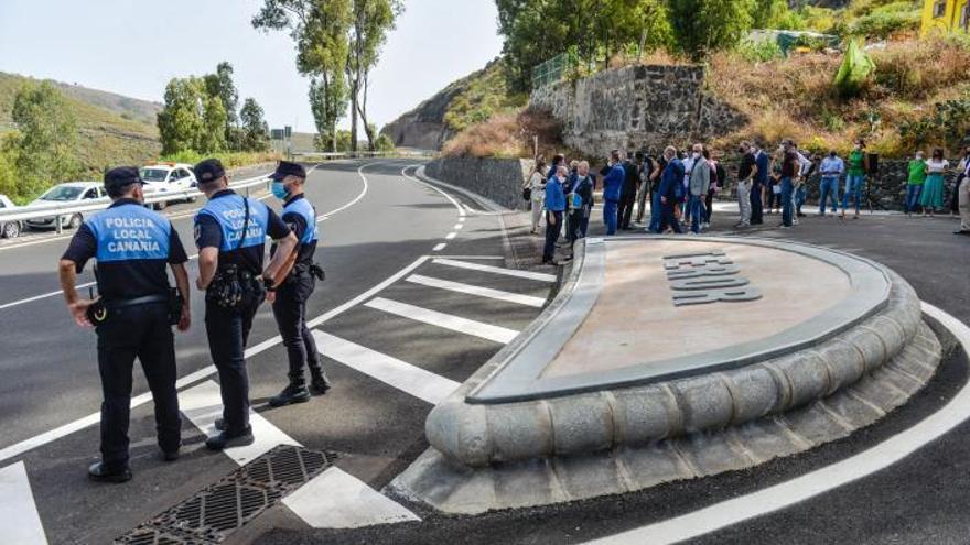 Teror reabre tras 21 años de lucha la carretera de los peregrinos del Pino
