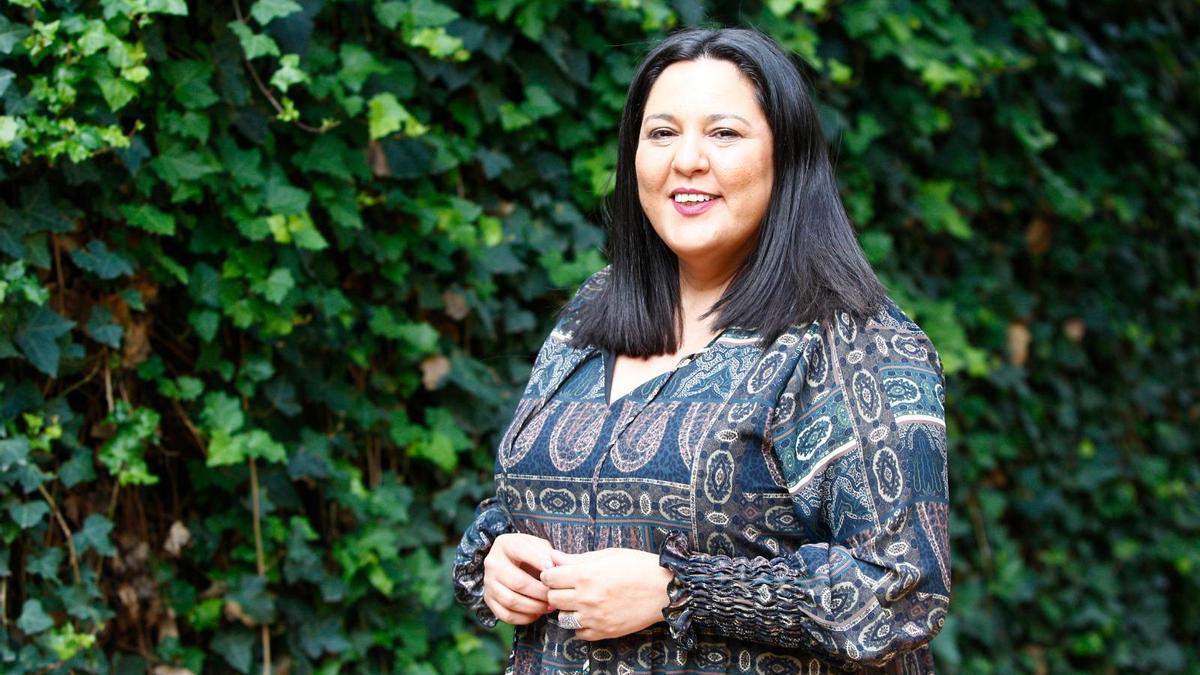 La vicepresidenta de la Diputación, Dolores Amo.