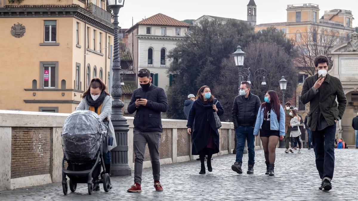 Italia se acerca a los 4 millones de positivos por coronavirus.