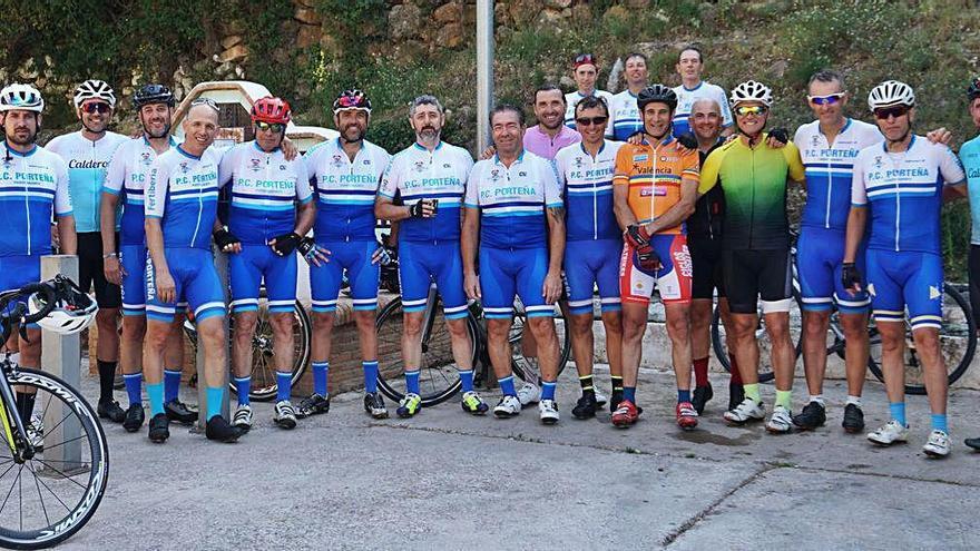 La Peña Ciclista Porteña vuelve a la carretera