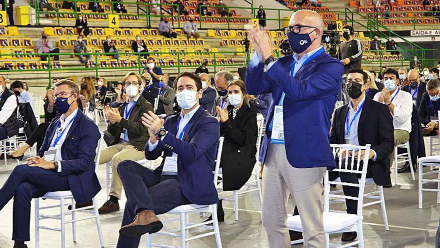 Baltar se marca el objetivo de alcanzar la mayoría absoluta en la Diputación en 2023