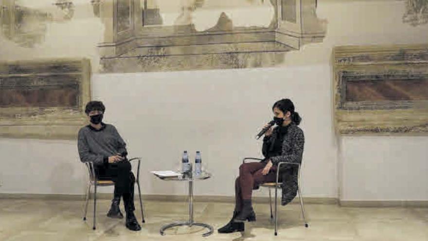 """Laura Delgado y Alberto Martín, en """"Conversaciones detrás del atril"""" en Zamora"""