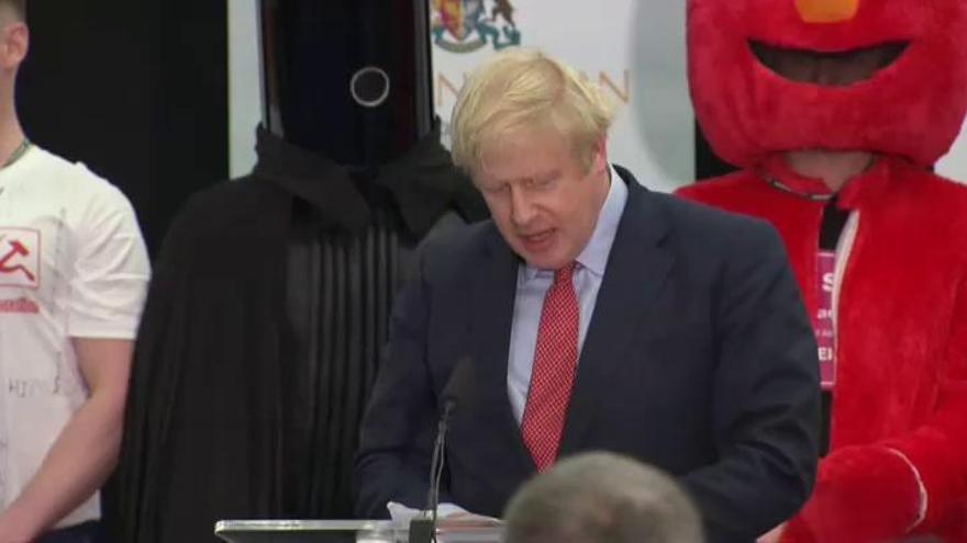 Johnson conquista una contundente mayoría absoluta para consumar el Brexit