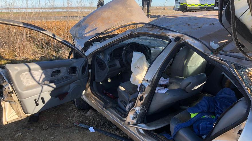 Una persona herida en un accidente entre Villafáfila y Villarrín