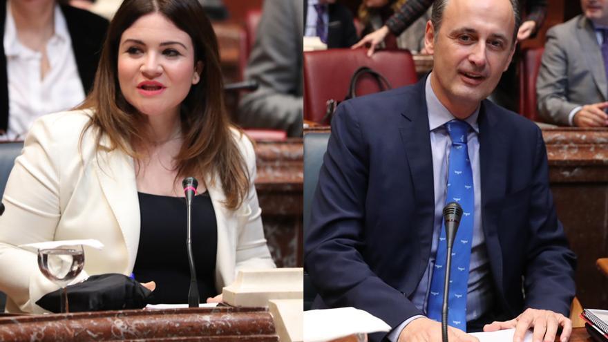"""El Gobierno regional asegura que los relevos de Celdrán y Moreno serán de forma """"tranquila"""""""