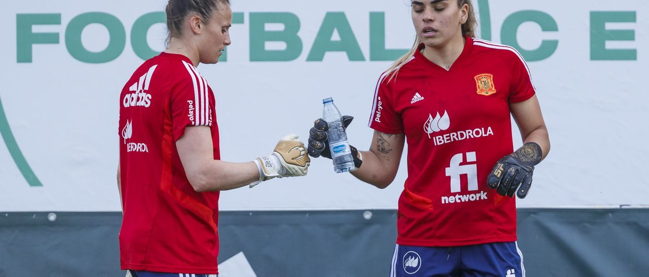 Misa, durante la preparación con España.