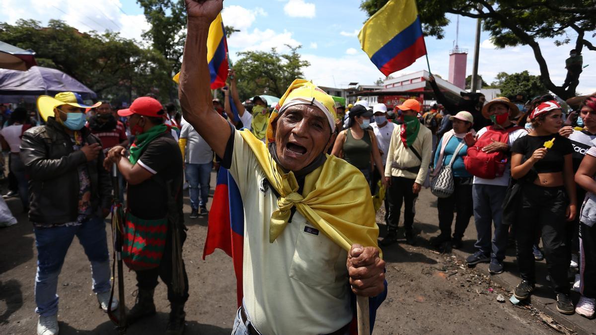 Cali sigue en el ojo del huracán del décimo día de protestas en Colombia.