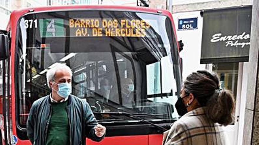 El Concello mejora el cruce de Sol y San Andrés tras las críticas de vecinos y oposición