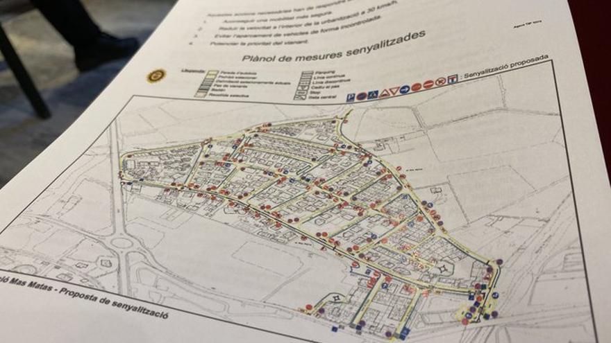 El Pla de Millora de Circulació de Roses avança i arriba a la urbanització de Mas Mates