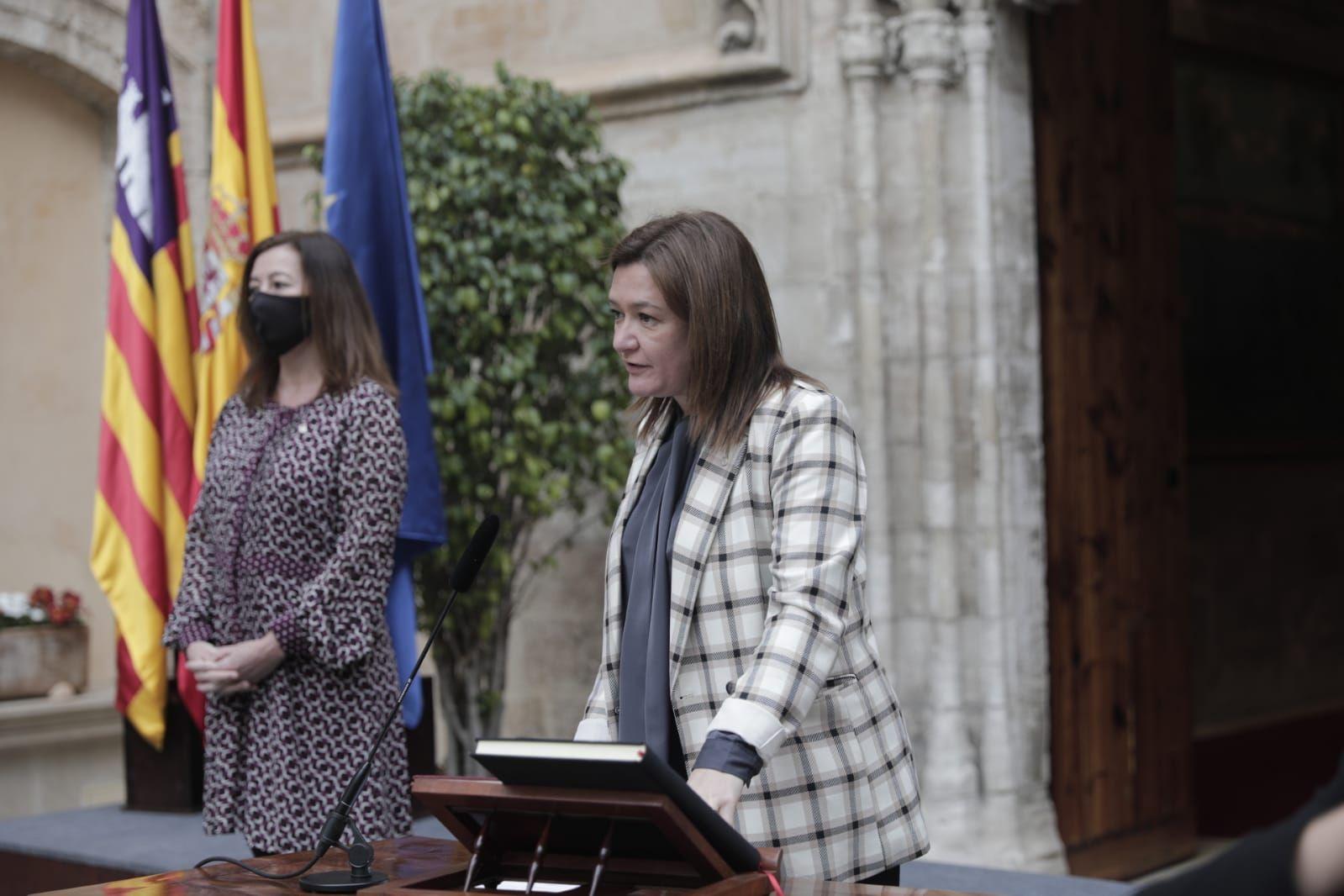 Mercedes Garrido, nueva consellera de Presidencia