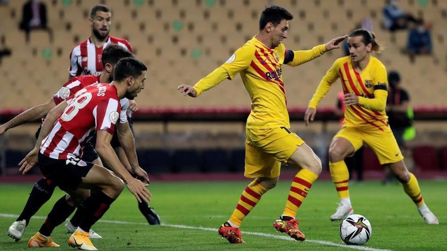 El millor Barça de la temporada s'endú la Copa del Rei (0-4)