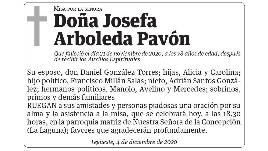 Josefa Arboleda Pavón