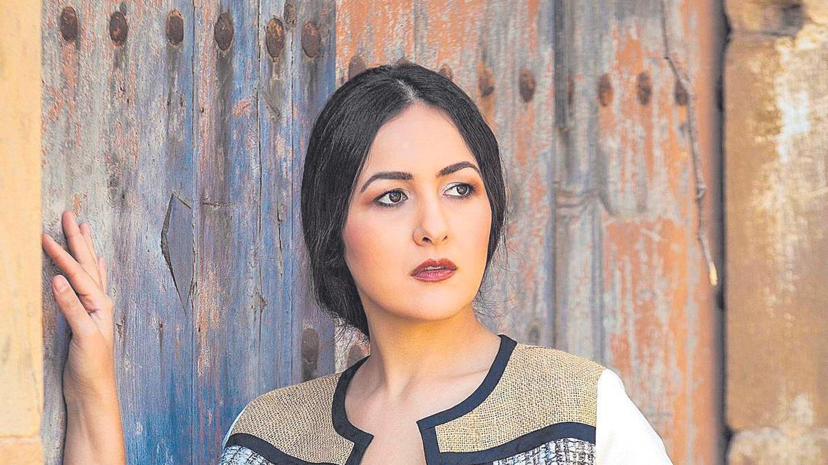 La cantaora Carmen Doorá, en una imagen promocional para su nuevo disco.