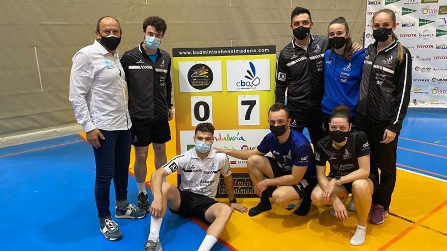 Bádminton: el Oviedo, victoria a victoria hacia el título