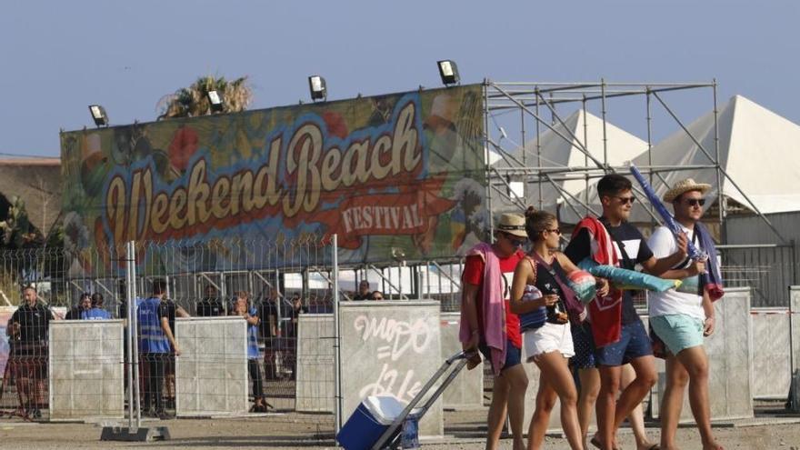 Cancelado por segundo año el Weekend Beach Festival