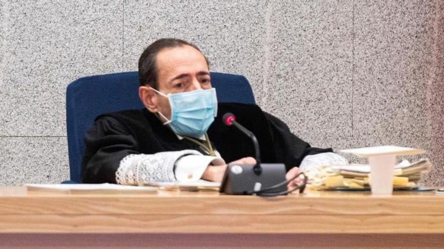"""El juez Guevara: """"Si es moda no respetar las instituciones, aquí se respetan"""""""