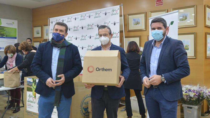 Grupo Orthem dona 5.000 litros de leche a los más necesitados