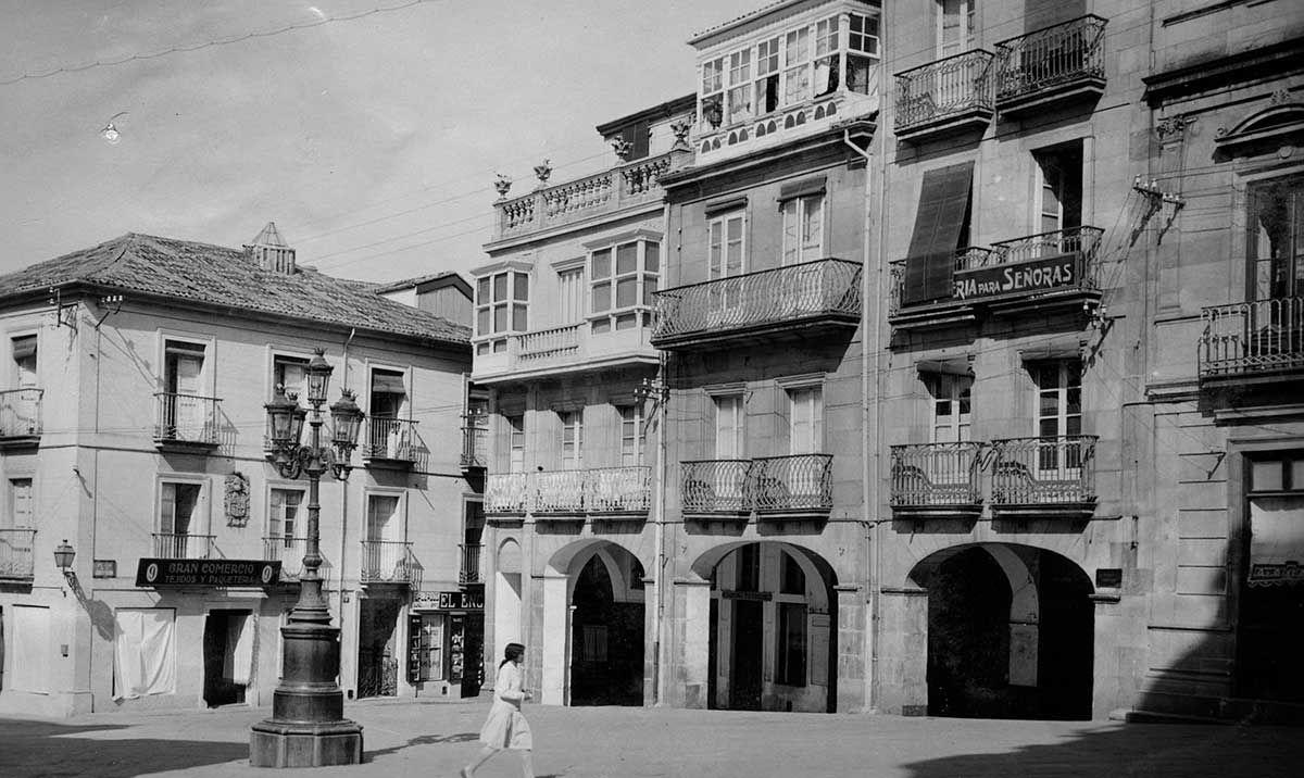 Praza da Constitución 1920 -1936