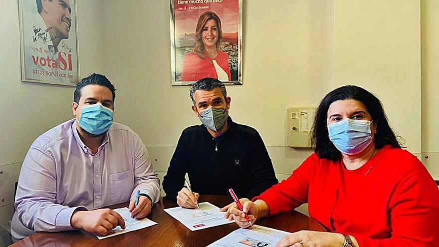 Los responsables del PSOE local apoyan a Susana Díaz